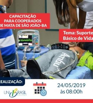 UNIBRASIL SAÚDE IRÁ PROMOVER CAPACITAÇÃO PARA COOPERADOS DE MATA DE SÃO JOÃO-BA